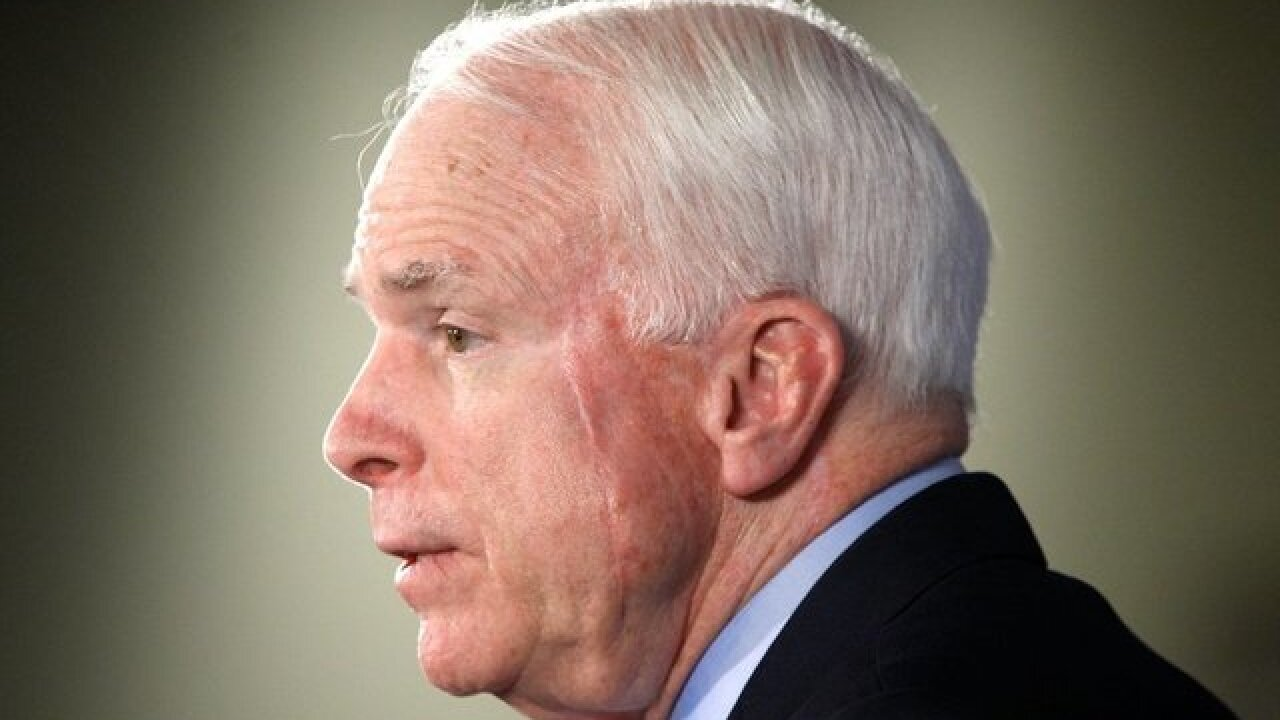 Family: Sen. McCain to discontinue treatment