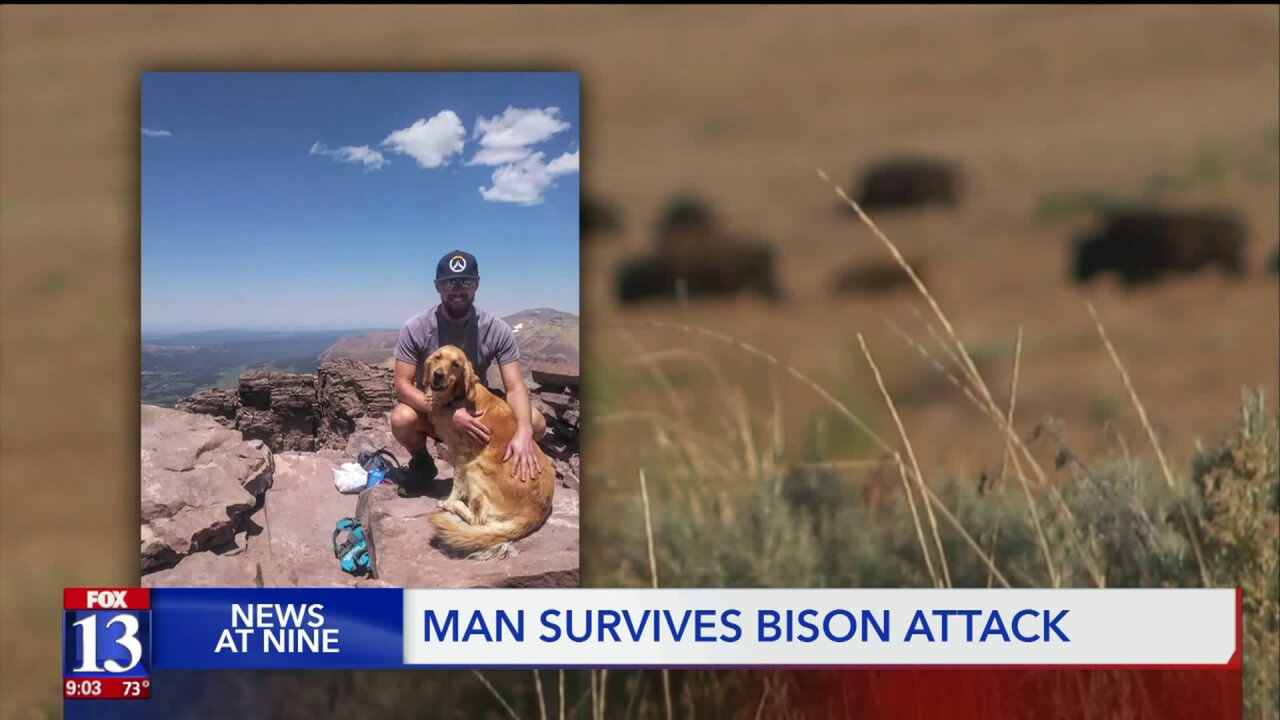 New details on Antelope Island bison attack; mother of victim speaks