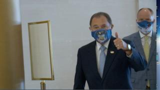 Governor Herbert face mask