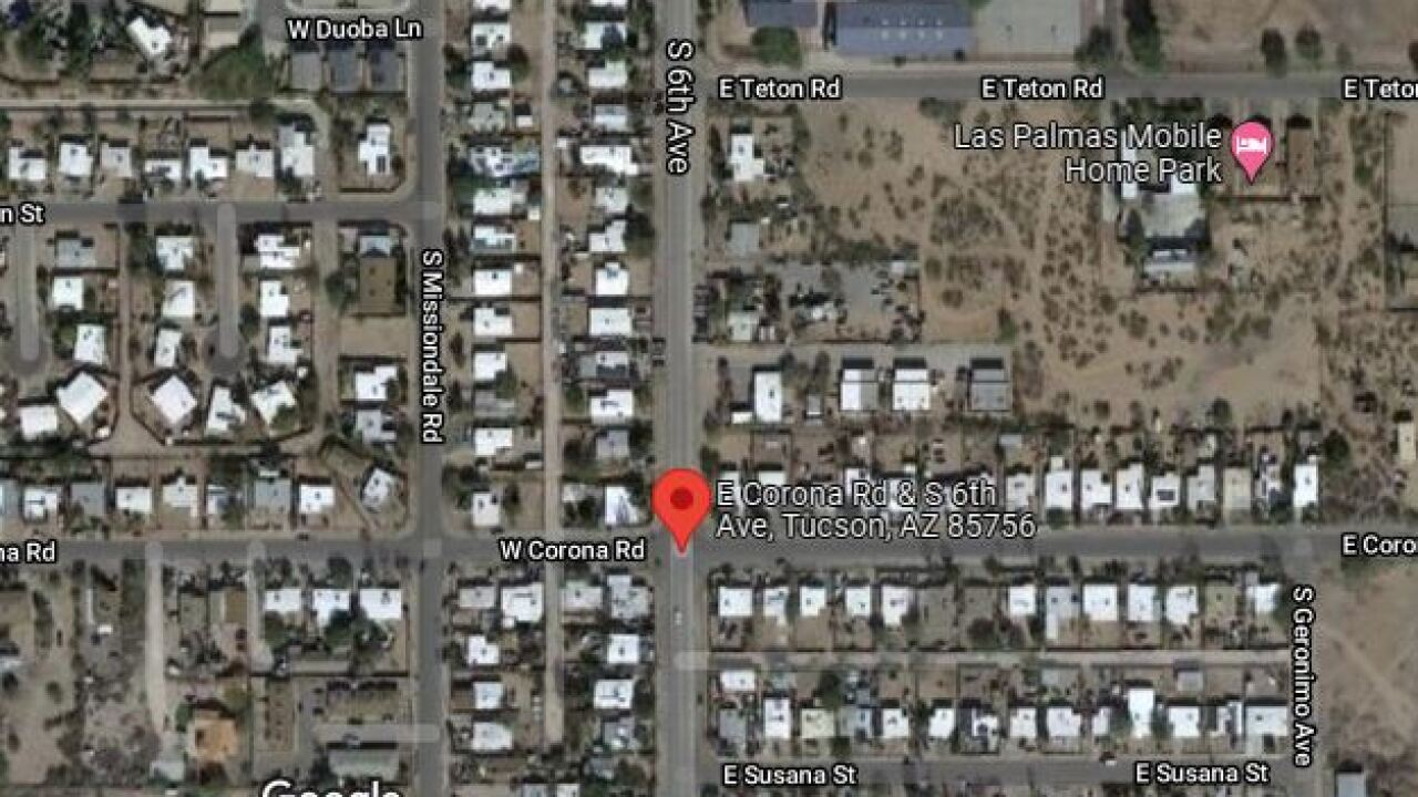 A man was injured in a shooting near East Corona Road and South Sixth Avenue Thursday.