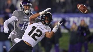 Thorson's 2 touchdowns lead Northwestern over Purdue 23-13