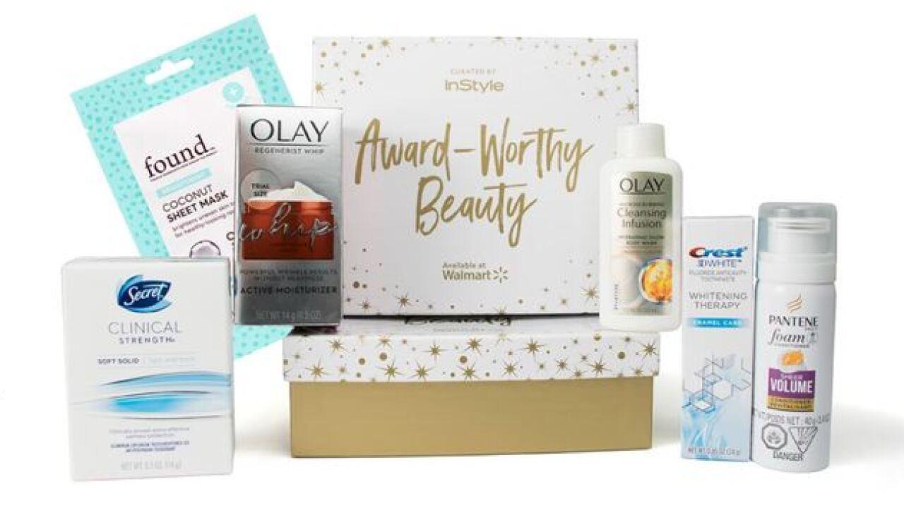 Walmart offering new beauty box