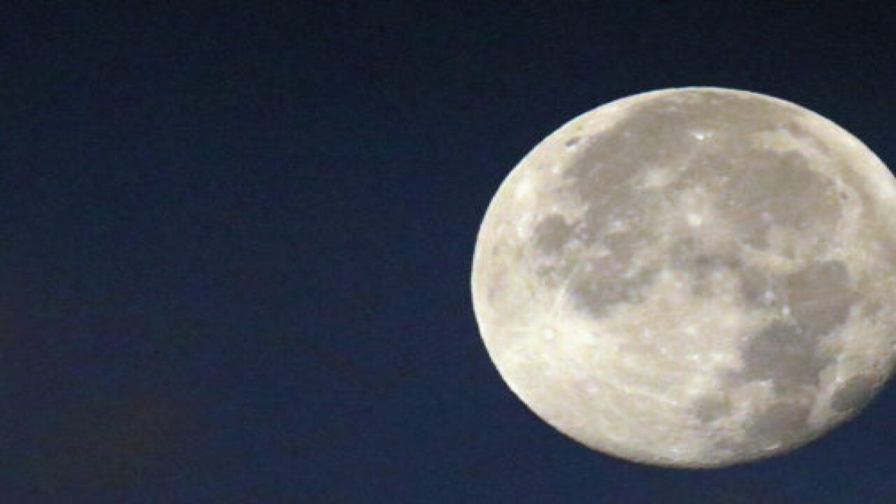 Get Ready For A Big, Bright 'hunter's Moon' On Oct. 13