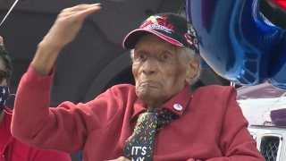 Tuskegee Airman in Ohio honored with parade to celebrate 102nd birthday