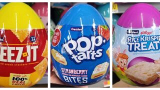 Walmart Is Selling Giant Easter Eggs Full Of Cheez-Its, Pop-Tarts And More