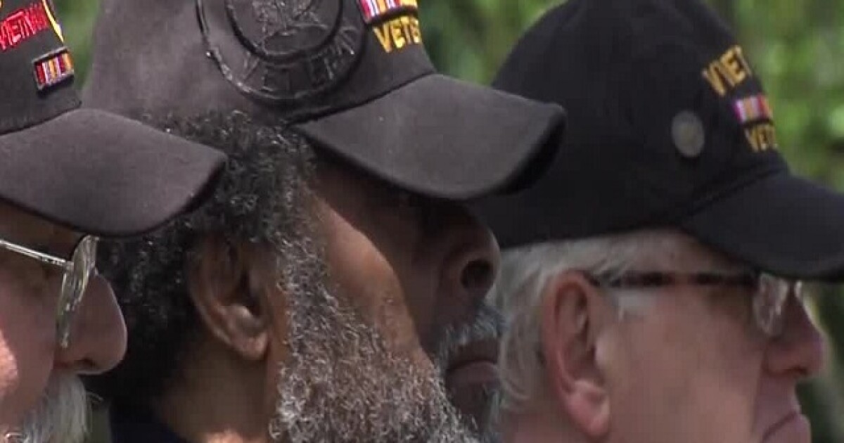 Vietnam War veterans honored at Crown Hill for Memorial Day