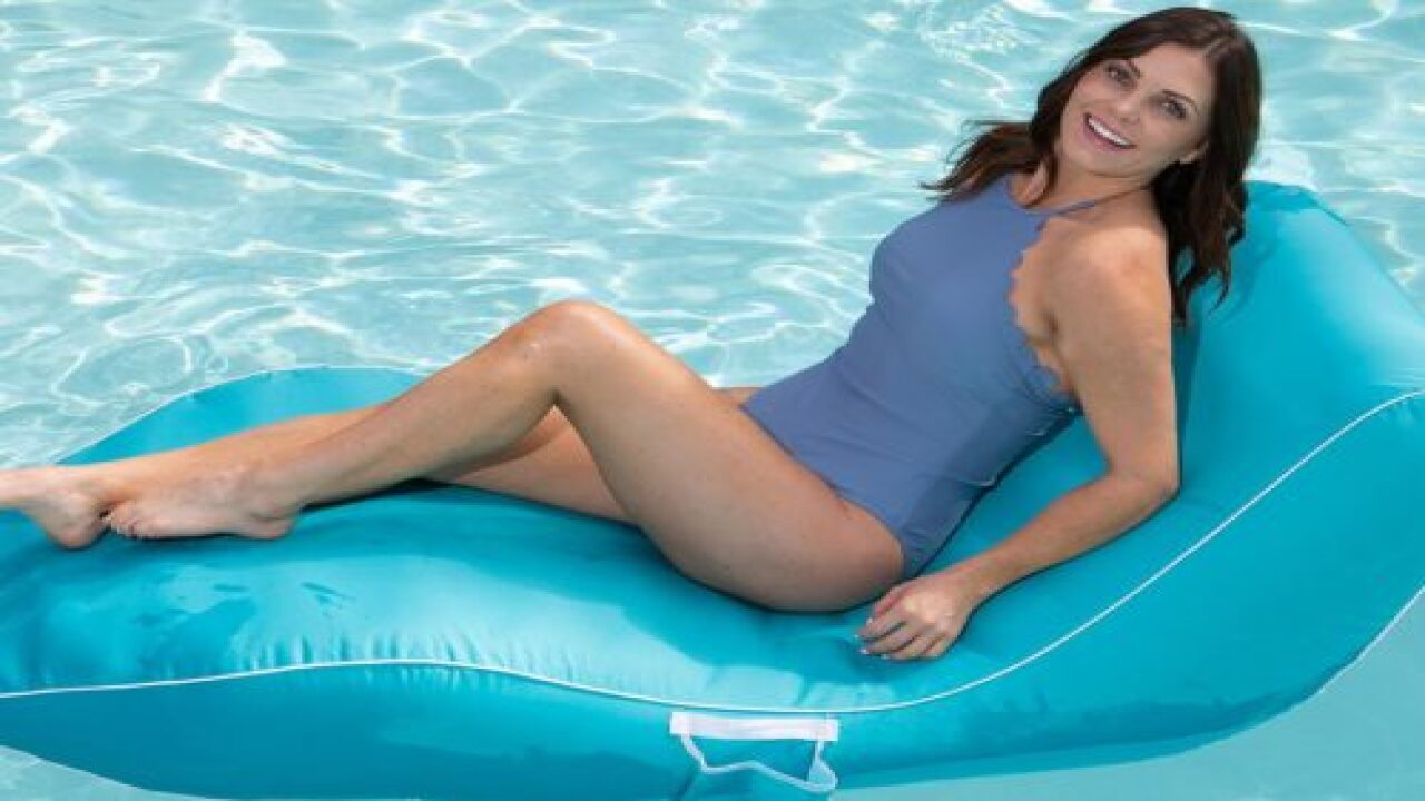 This Comfy Lounger Pool Float From Sam's Club Will Help You Live Your Best Life This Summer