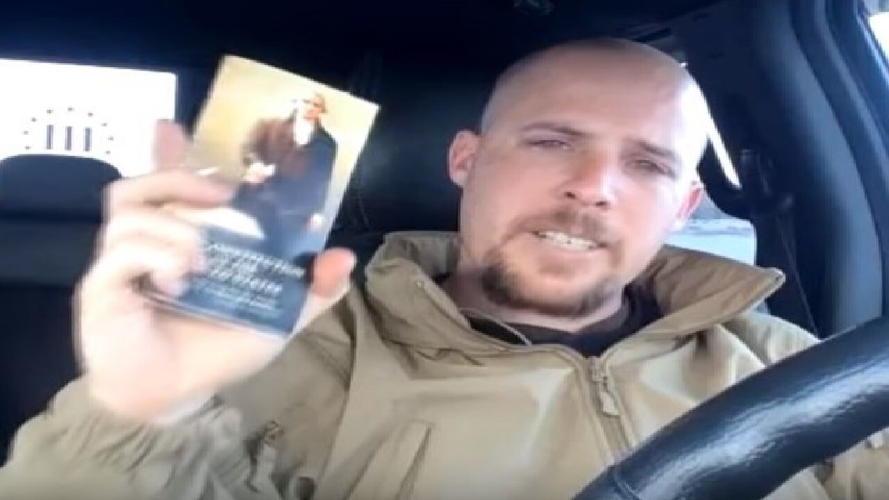 Jon Ritzheimer appears in Oregon protest videos