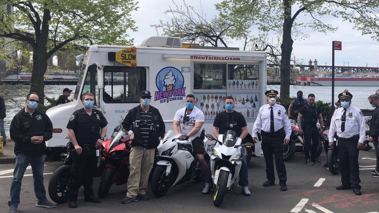 motorcycles seized queens