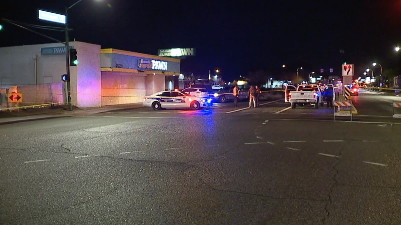 Pedestrian killed 44th and McDowell