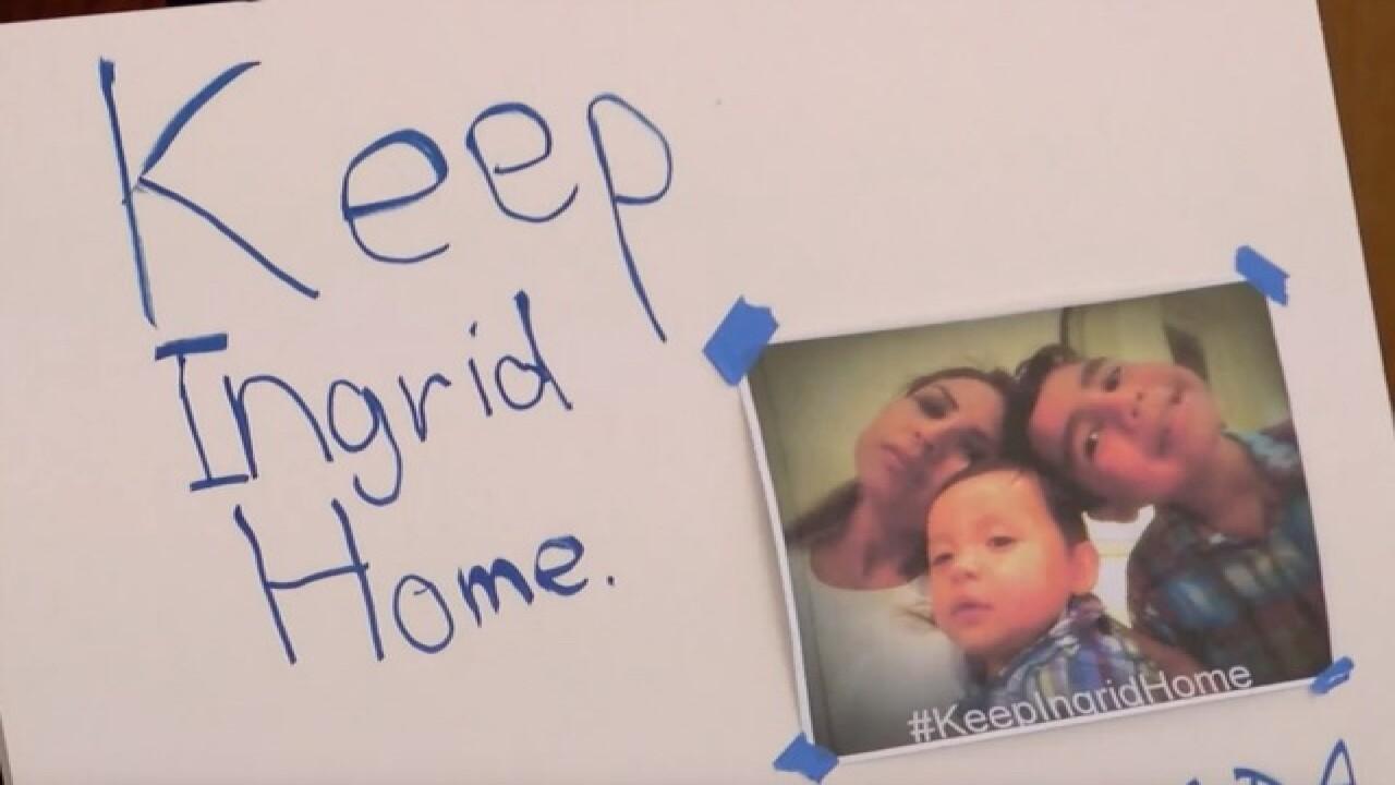 Kids of undocumented women head to Washington