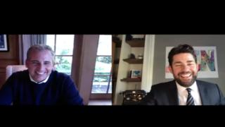 John Krasinski Interviewed Former Costar Steve Carell On His New Web Show, Some Good News