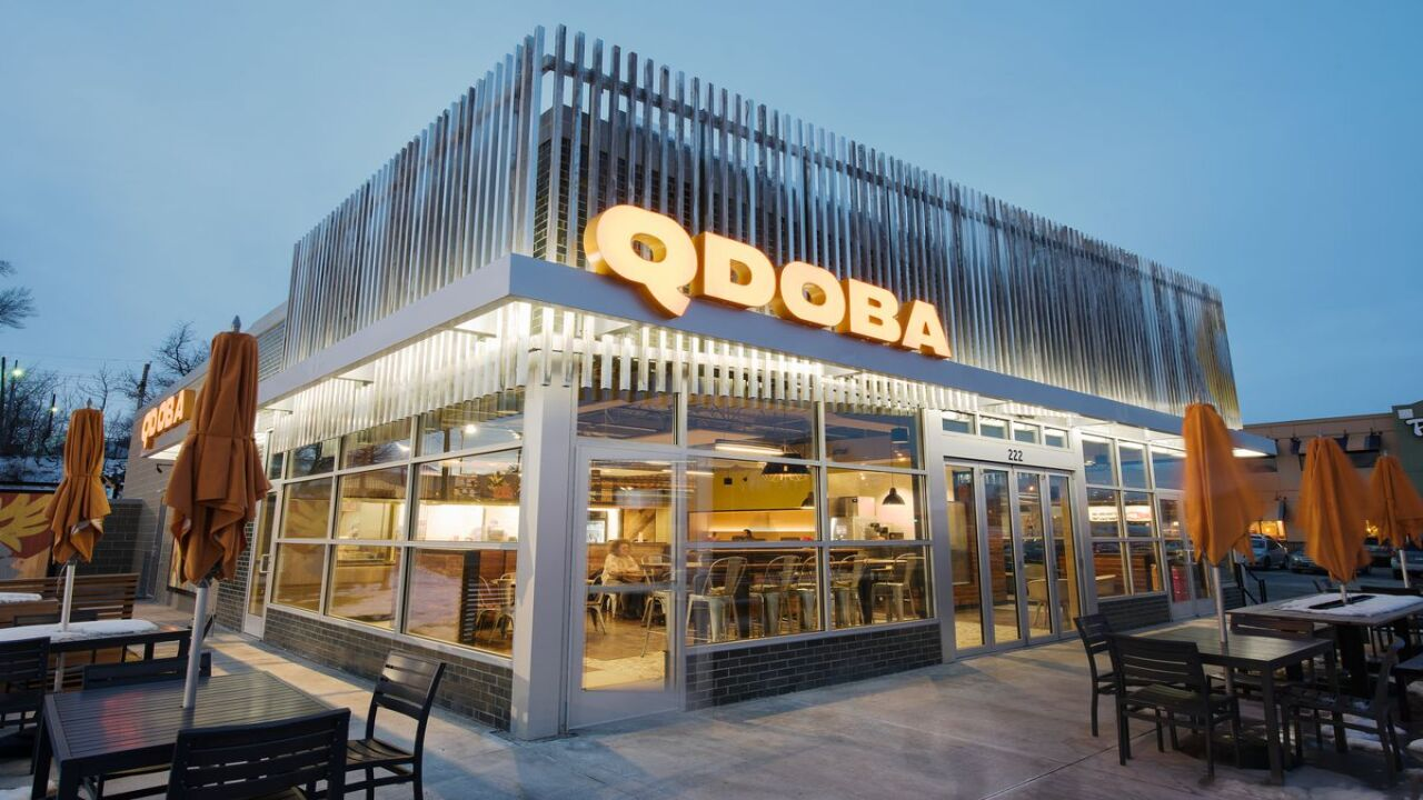 Share a kiss and get a free burrito at QDOBA this Valentine's Day