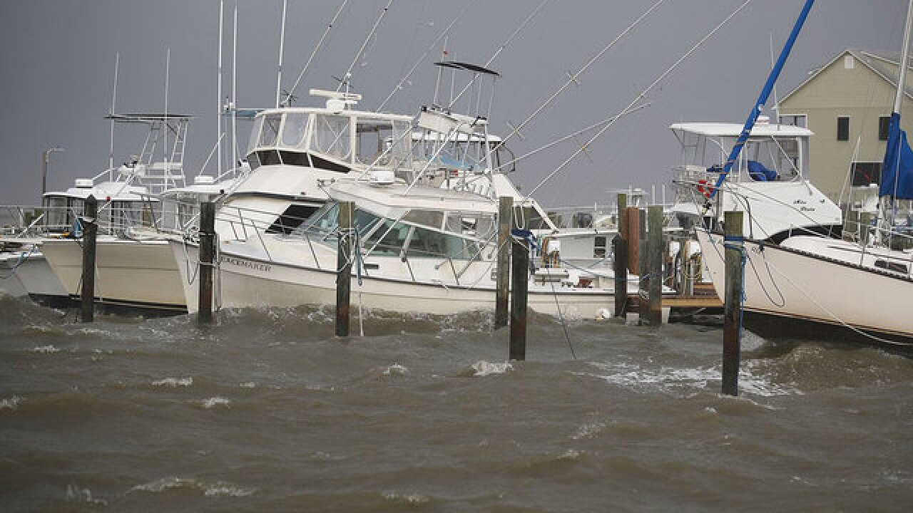 Potential Tropical Cyclone Seven approaches Fla.