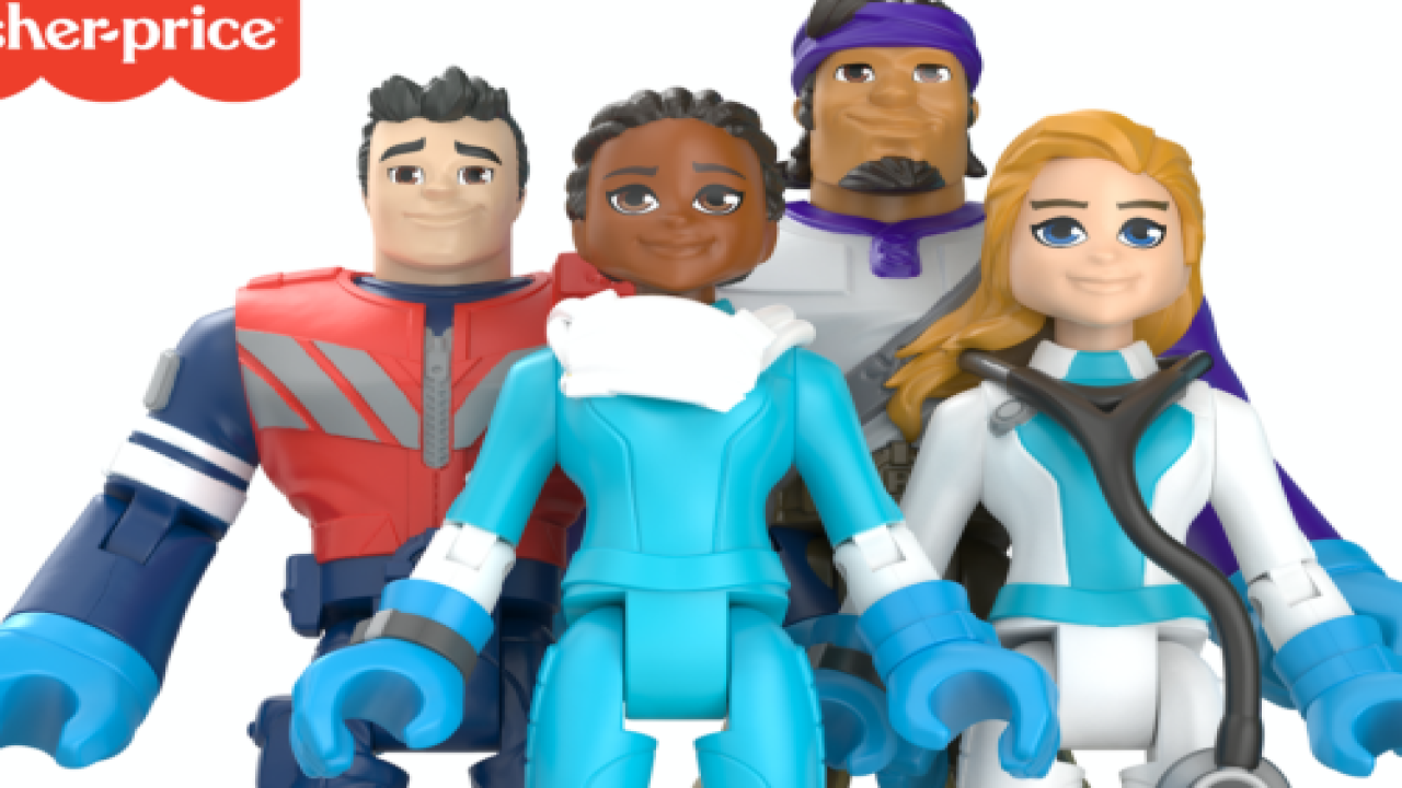 Mattel Is Honoring Everyday Heroes With New Line Of Action Figures