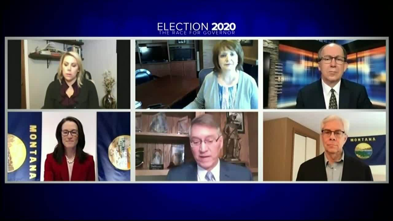VIDEO: Montana Democratic gubernatorial candidates debate the issues