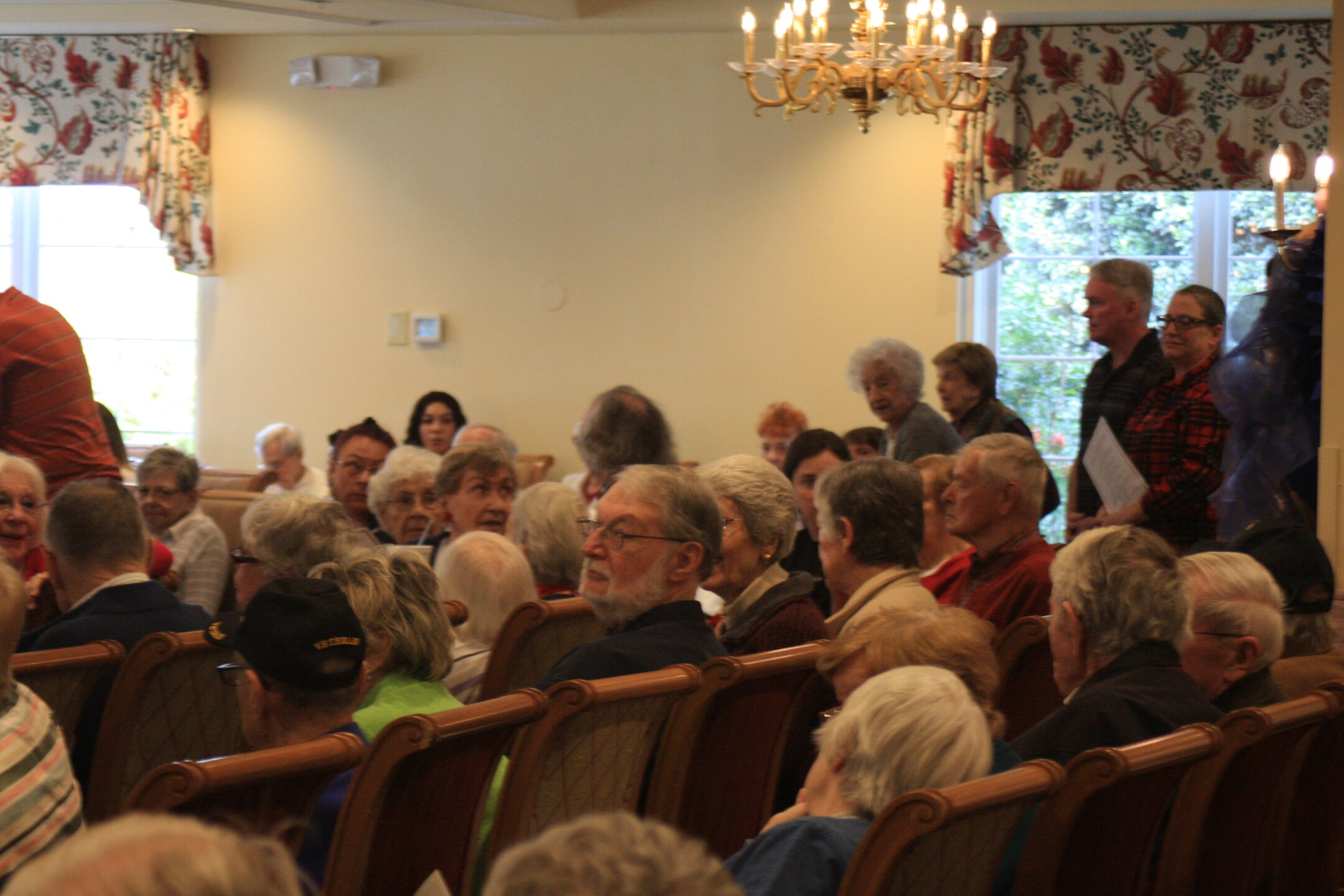 Photos: Senior singers at local retirement community salute soldiers on Veterans Day