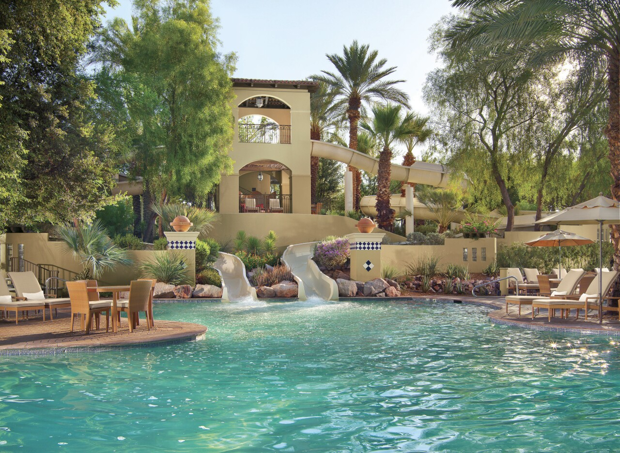 Fairmont Scottsdale Princess Sonoran Splash Waterslides
