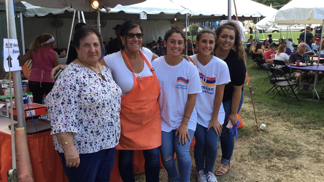 It's a family affair at Richmond's Armenian Food Festival: 'I love the family'
