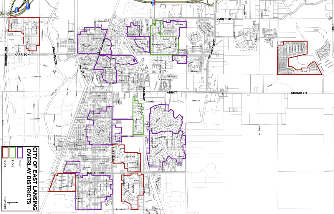 East Lansing Overlay Districts