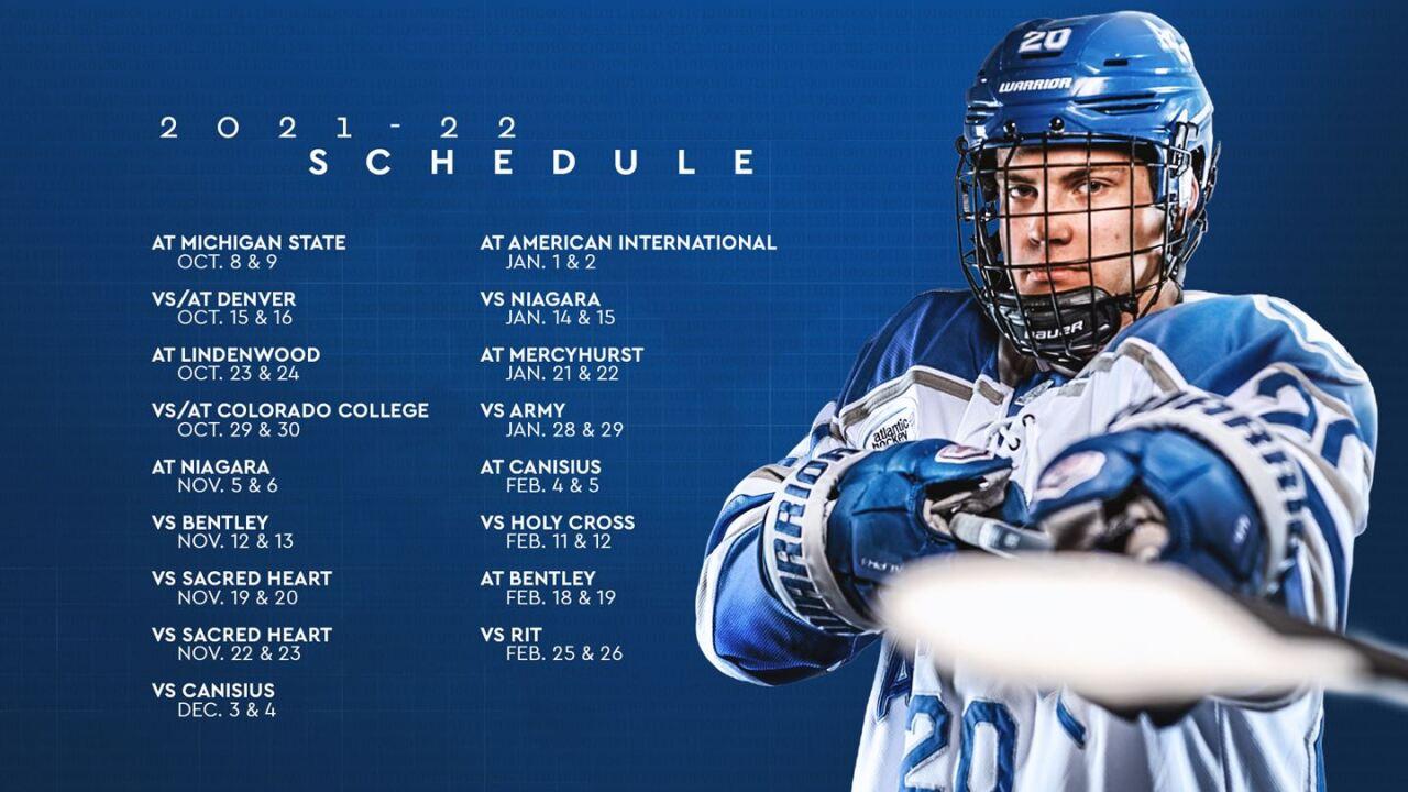 2021-2022 Air Force hockey schedule