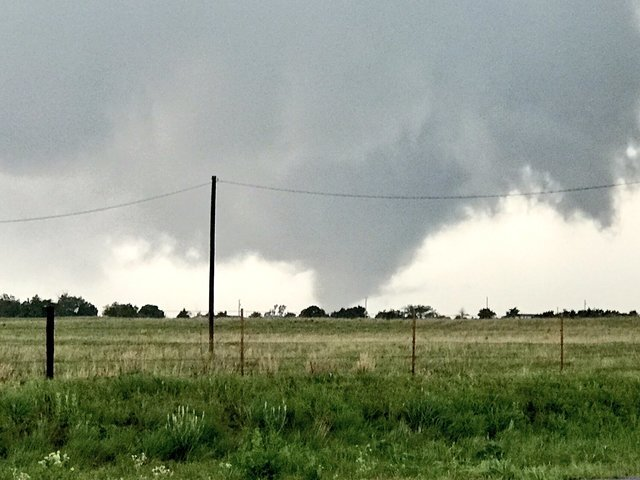 PHOTOS: Multiple tornadoes in western Oklahoma