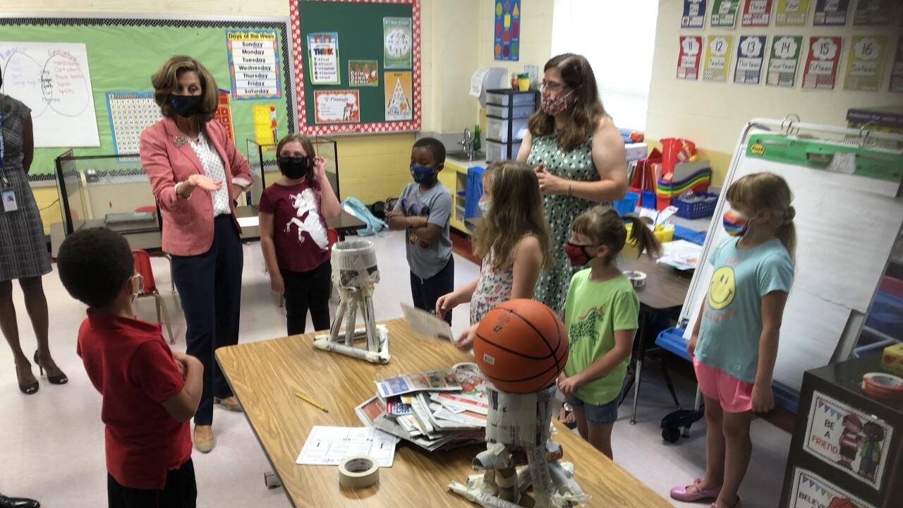 Pamela Northam visits Asbury Elementary School (July 20)