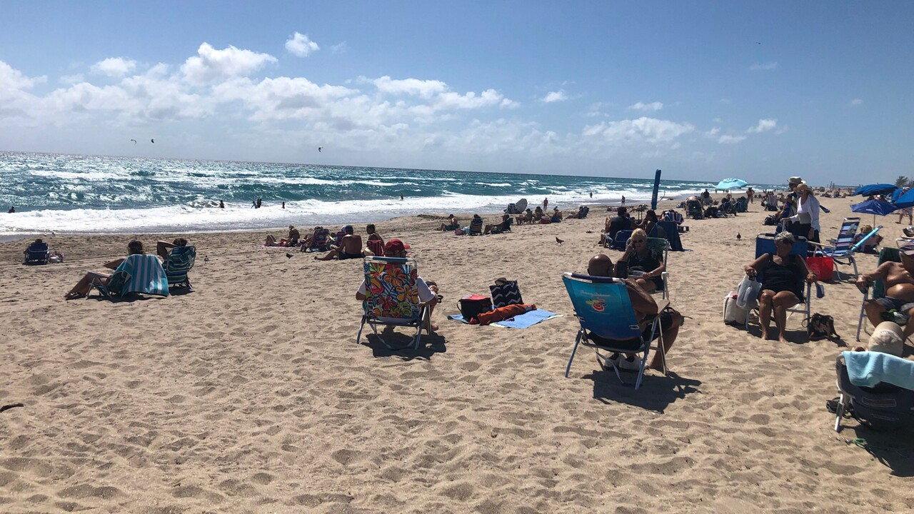 Delray Beach on March, 20, 2020.