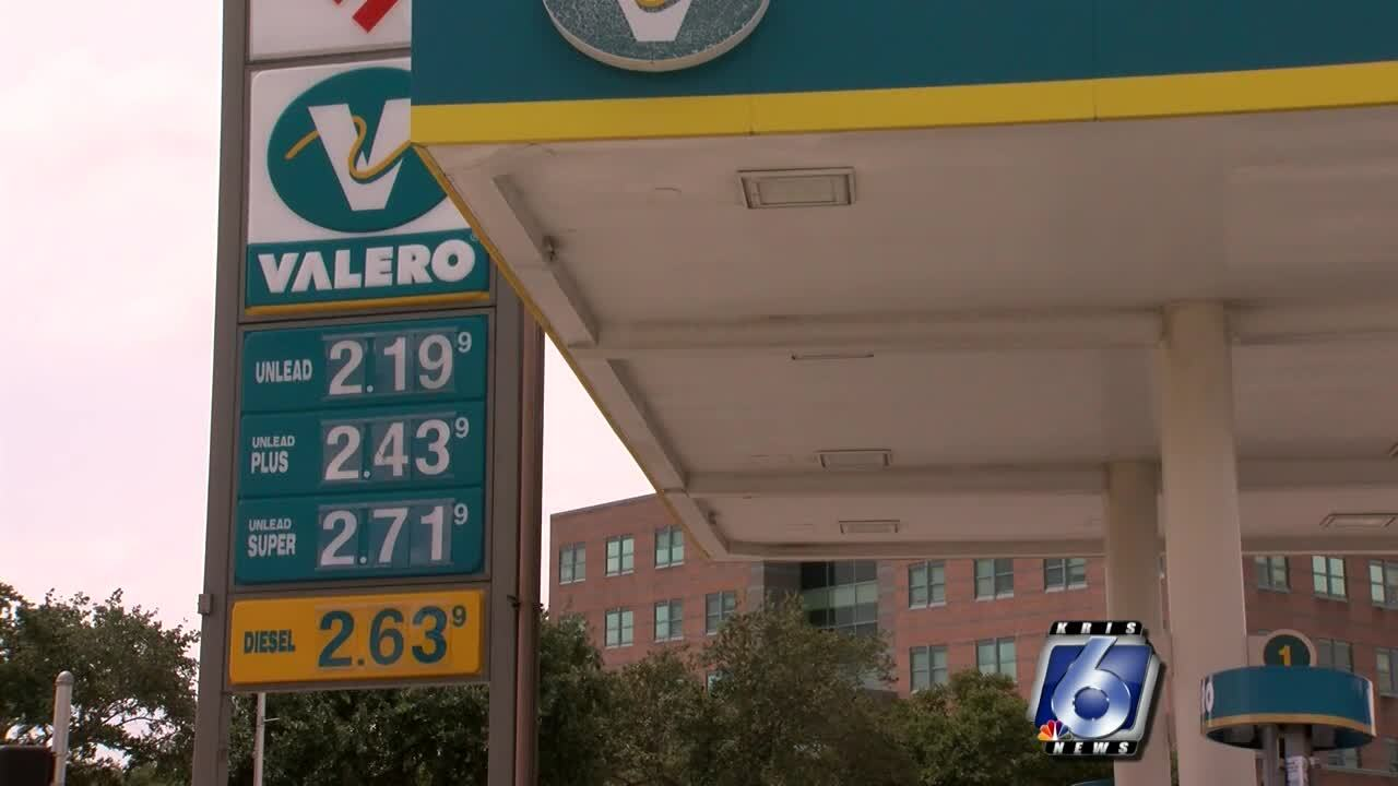Gas prices are down across the country
