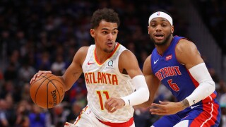 Trae_Young_Atlanta Hawks v Detroit Pistons