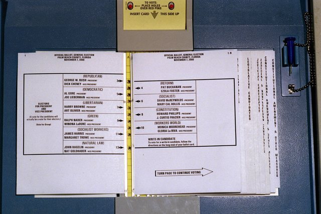GALLERY: Palm Beach County Canvassing Board recount in 2000 presidential race