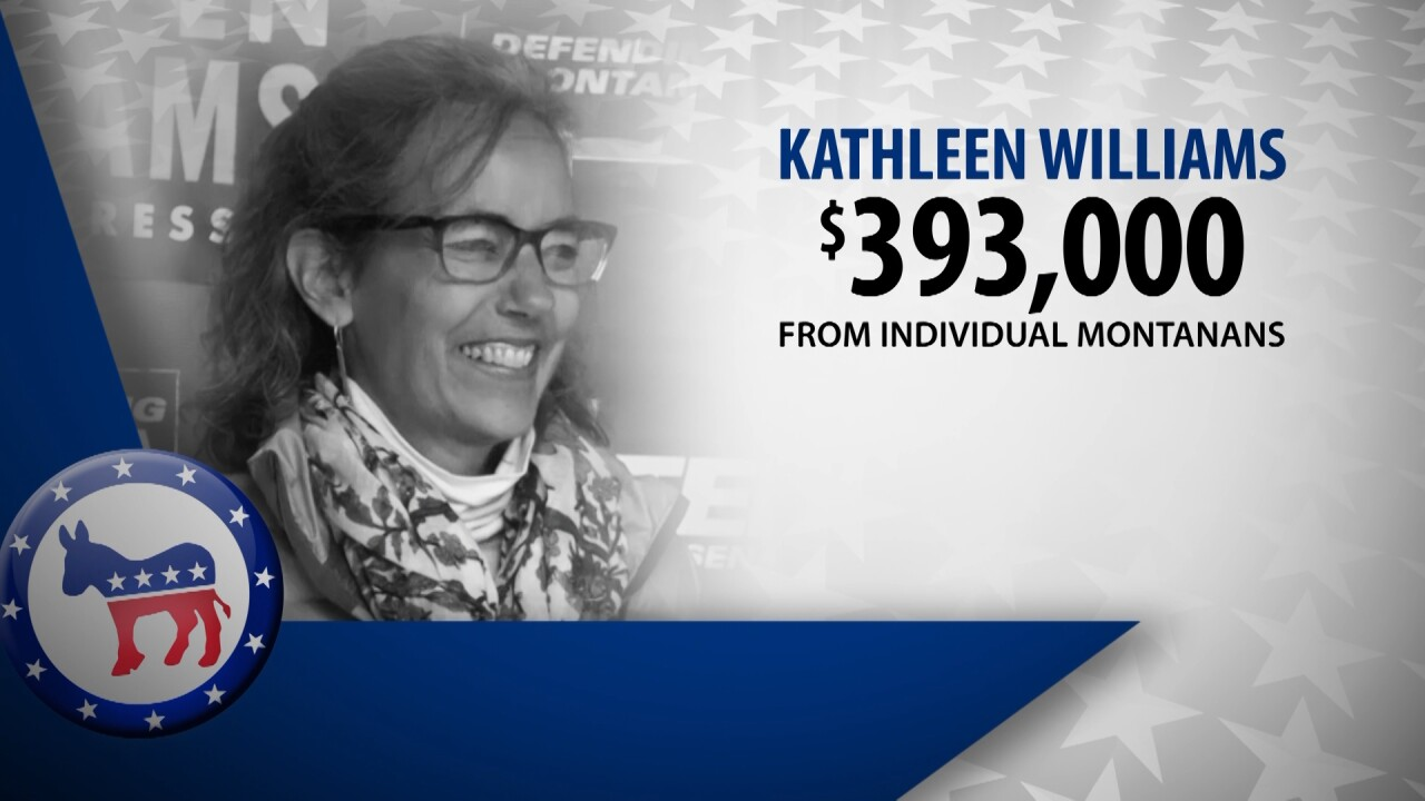 Democratic U.S. House candidate Kathleen Williams