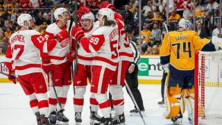 Anthony Mantha, Tyler Bertuzzi lead Red Wings over Predators