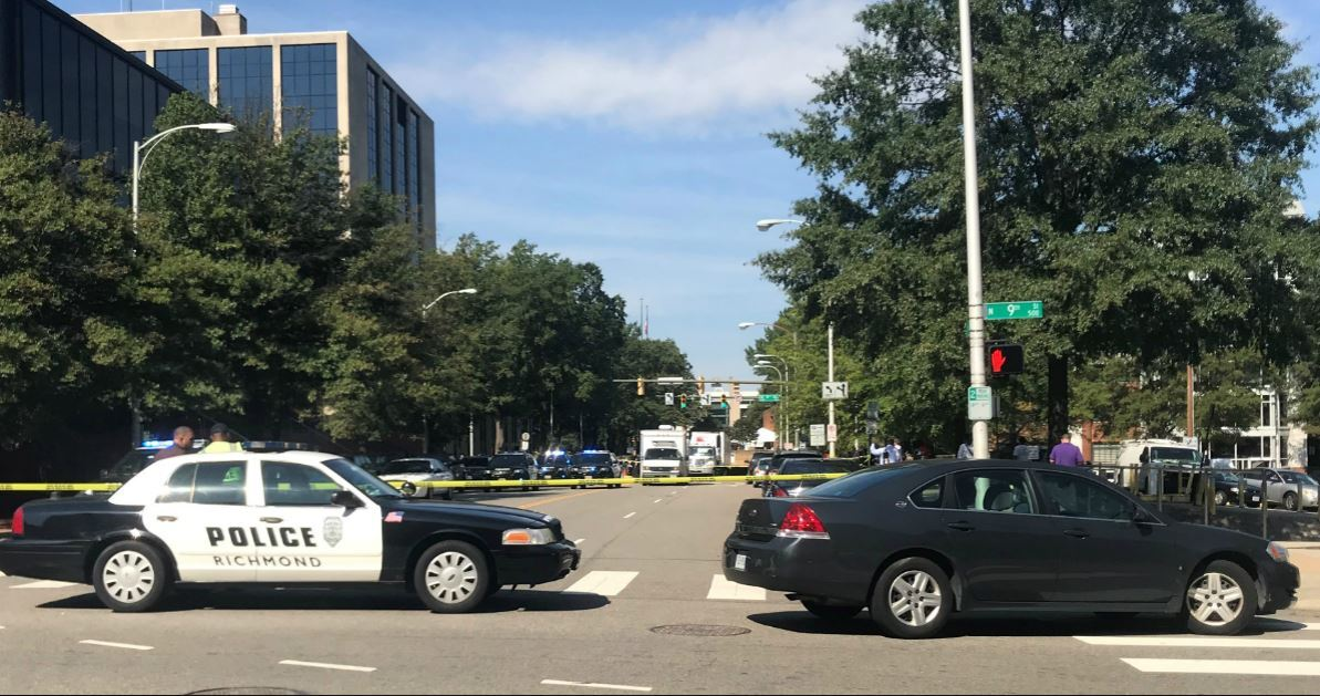 Photos: Police identify man who committed suicide on Richmond courthousesteps