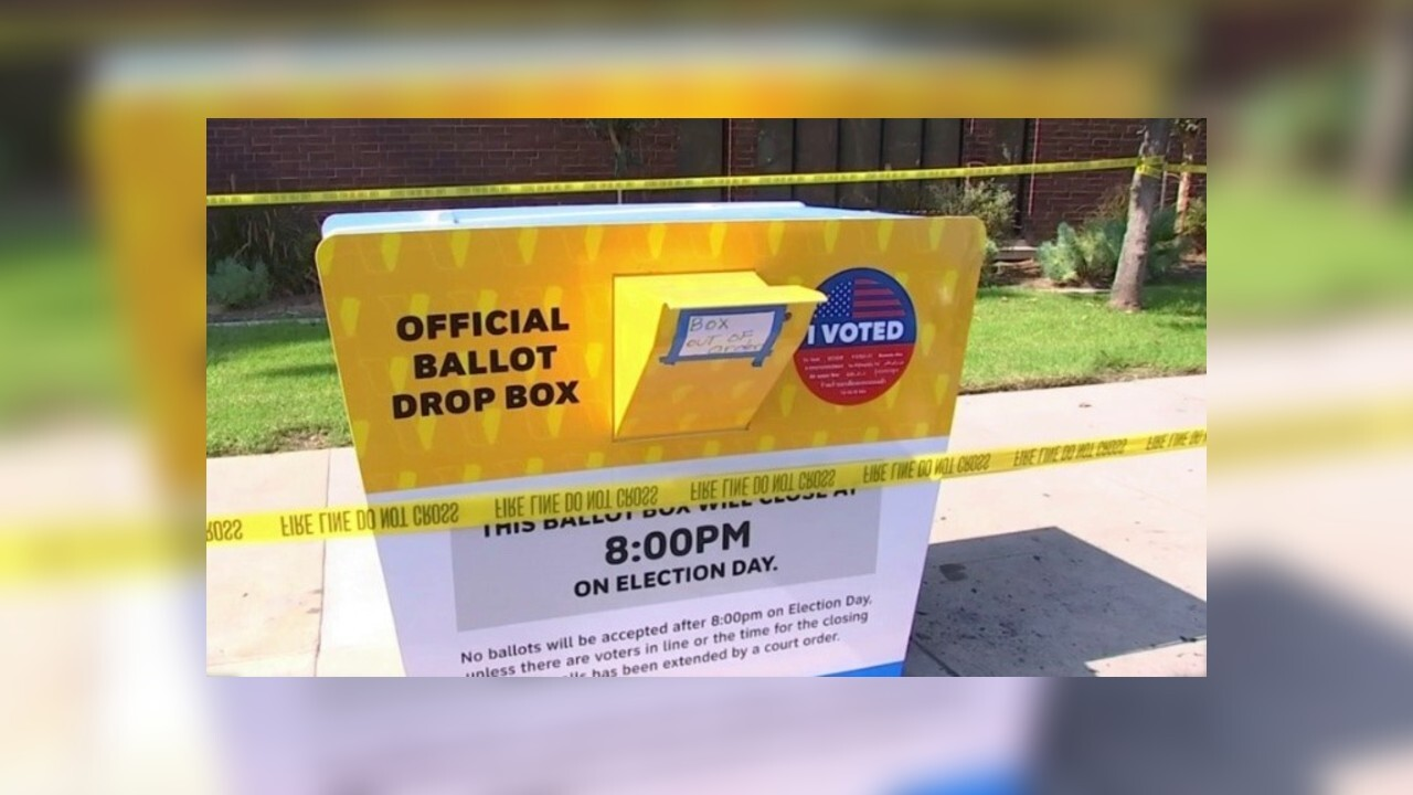 Arson suspected after ballot box in California set on fire, police say