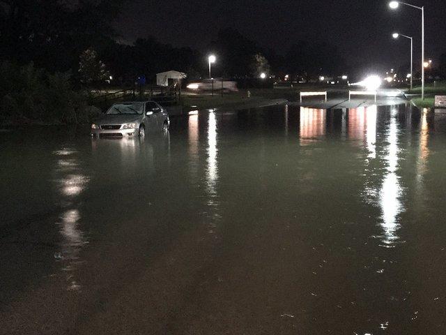 Photos: Record flooding hits KC metro again