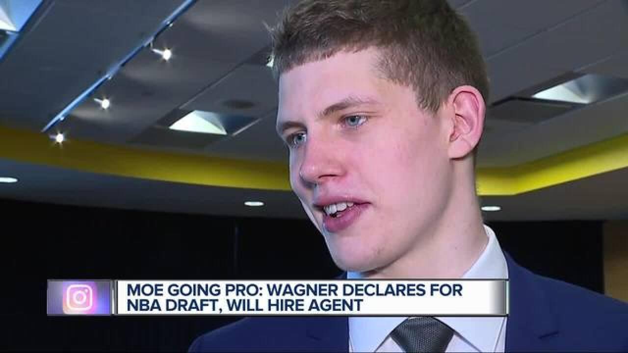 Moe Wagner enters NBA draft, skips senior season