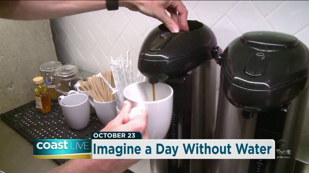 Imagining a day without water (or coffee or beer) on Coast Live