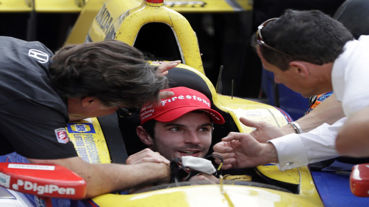 Alexander Rossi, rookie, wins 100th Indy 500