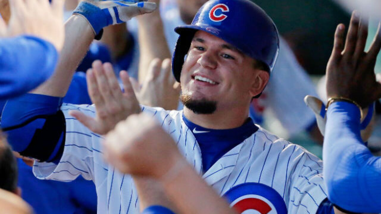 ESPN: Schwarber out for season with torn ACL