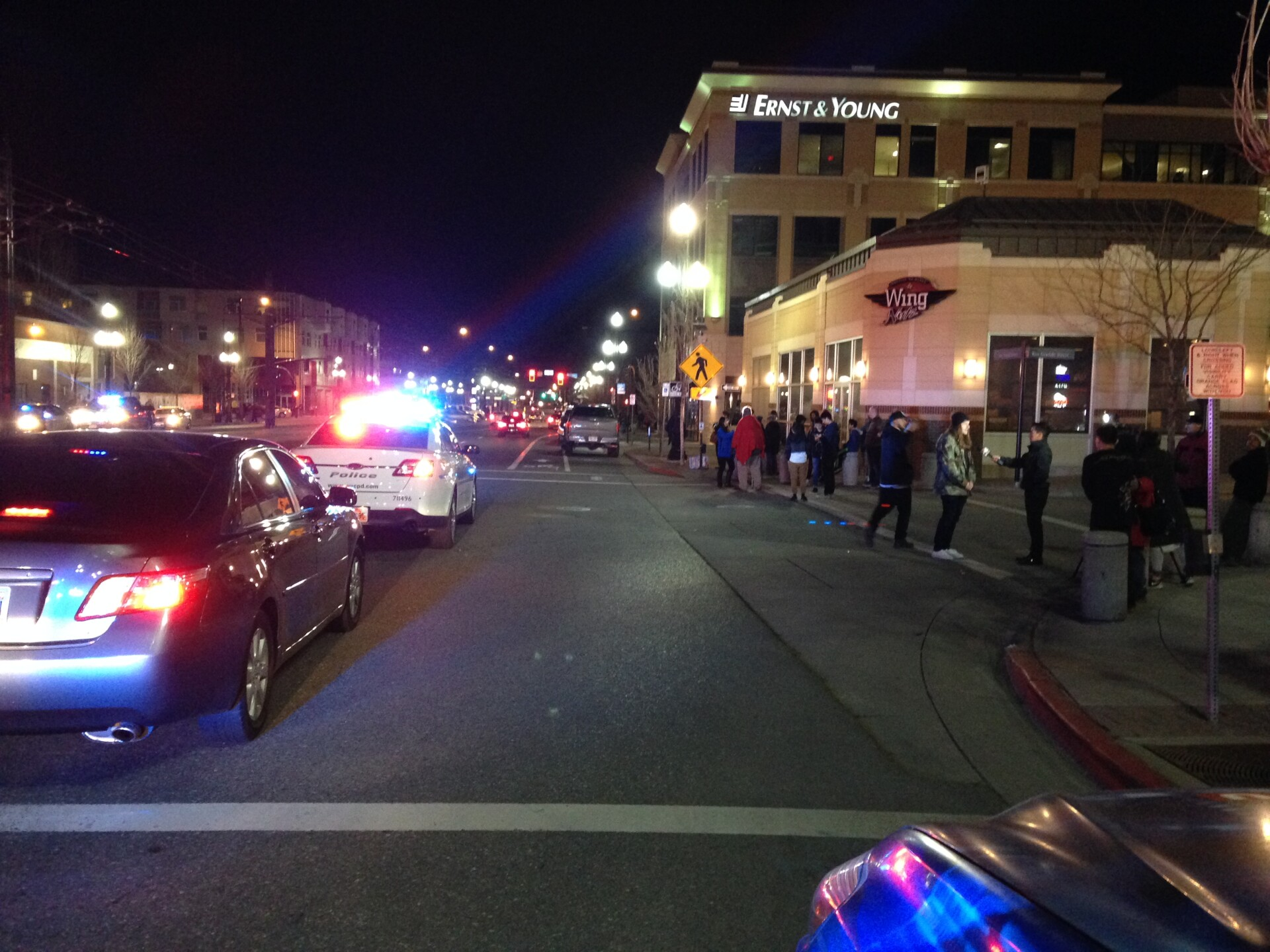 Photos: Nearly 100 cops respond to angry crowds after teen shot by Salt Lake City police