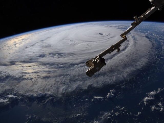 These photos of Hurricane Florence taken from space are breathtaking and terrifying