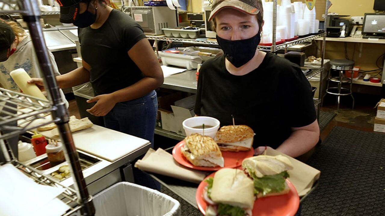 california restaurant pandemic