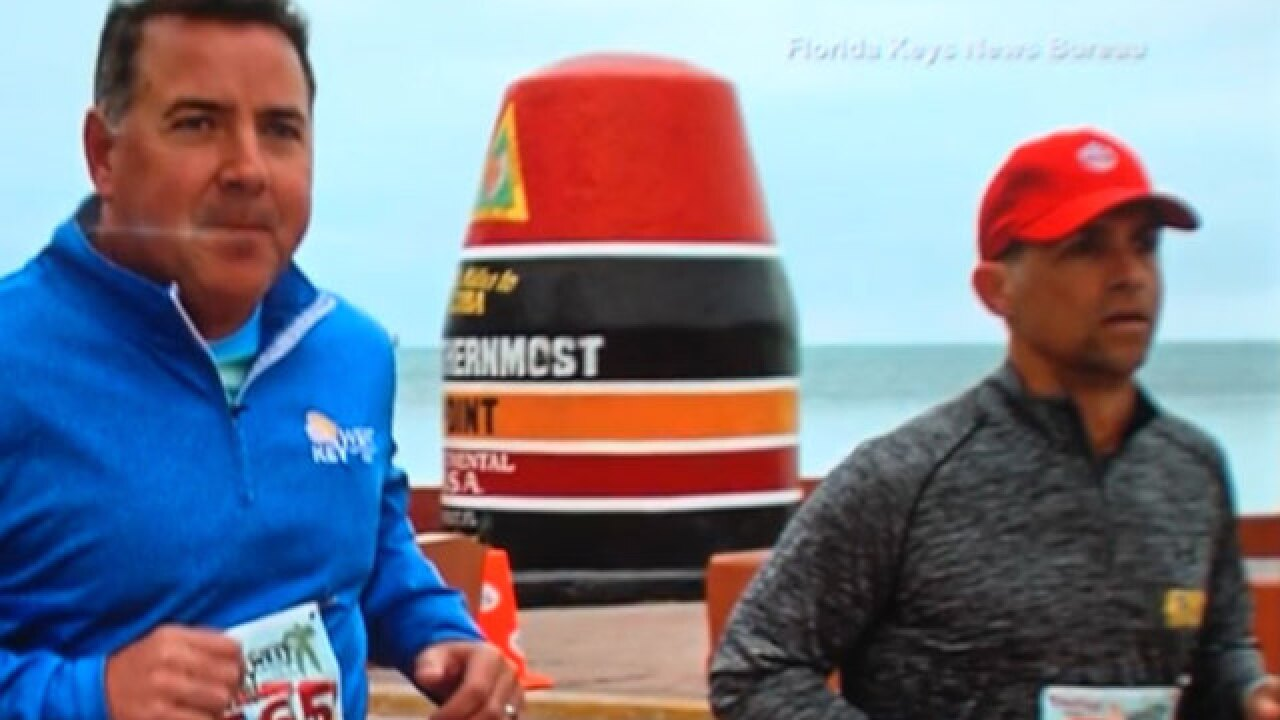 Hobe Sound man runs Key West 5K with man he helped save through CPR in prior year's race