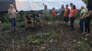 Acadiana Native Plant Project dedicates greenhouse to late founder
