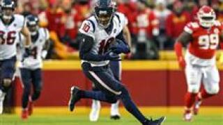 The Arizona Cardinals have acquired receiver DeAndre Hopkins in a trade that will send running back David Johnson to the Houston Texans.
