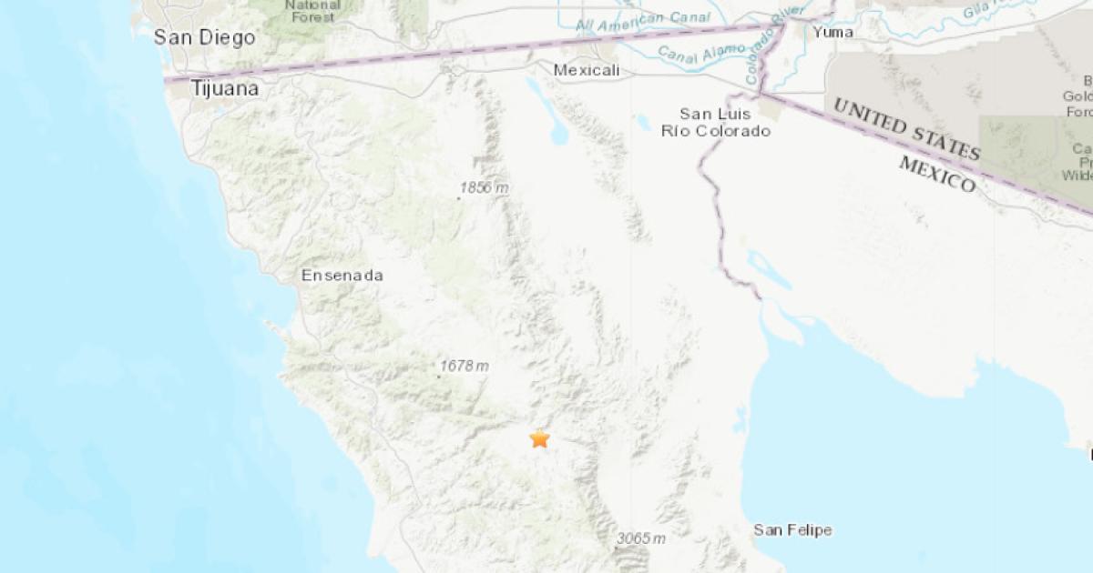 USGS: 4.5-magnitude earthquake in Baja California felt in SD