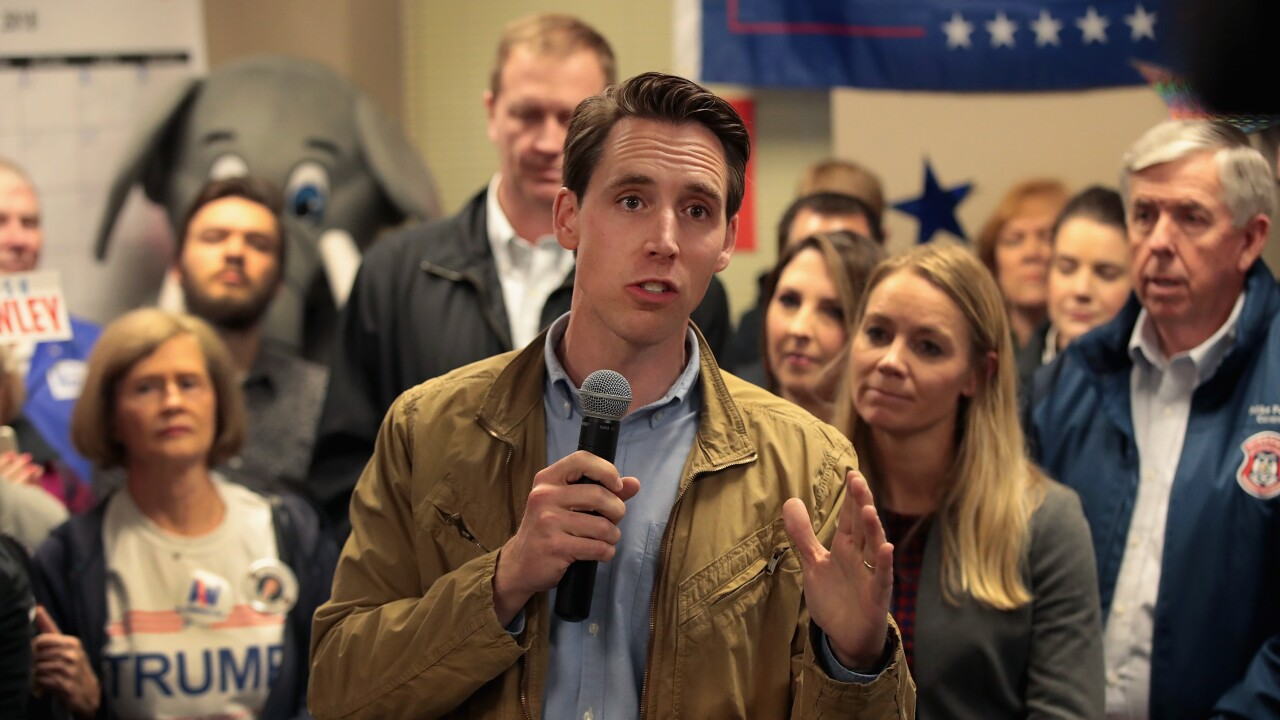 Claire McCaskill And Josh Hawley Campaign In Hotly Contested Missouri Senate Race