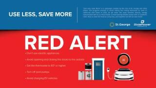 St. George red alert