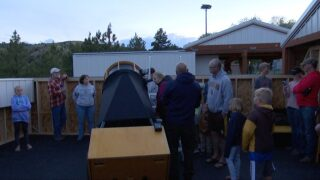 Montana Learning Center at Canyon Ferry celebrates grand opening for new telescopes